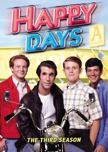 Happy Days - Season 3 (3 Disc Set) on DVD