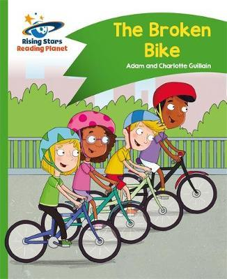 Reading Planet - The Broken Bike - Green: Comet Street Kids by Adam Guillain image