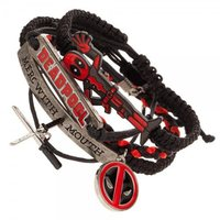 Marvel: Deadpool Arm Party Bracelet Set