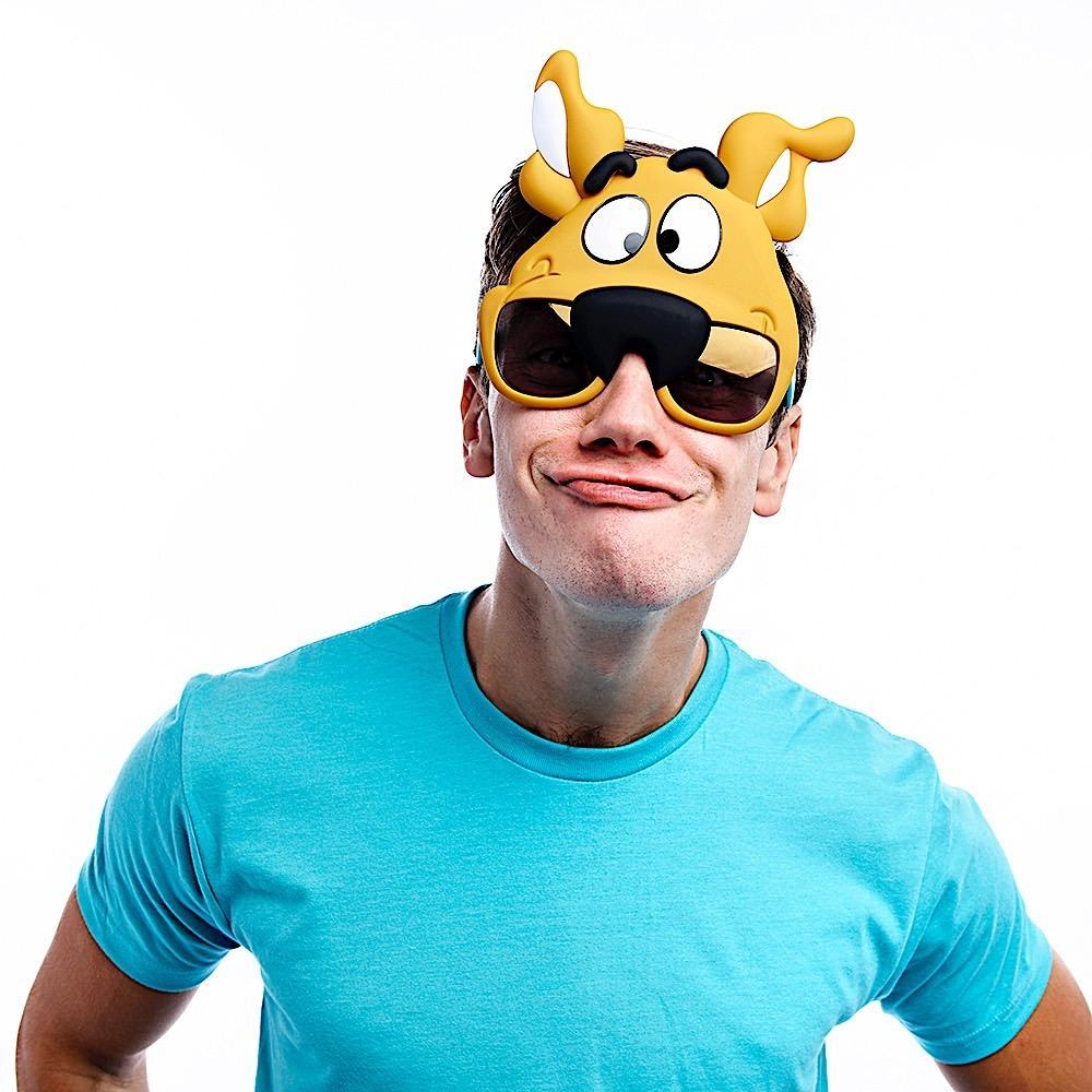 Sunstaches: Costume Sunglasses - Scooby Doo image