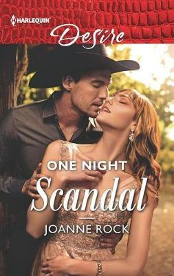 One Night Scandal | Joanne Rock Book | Buy Now | at Mighty Ape NZ