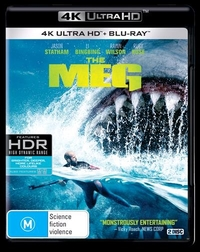 The Meg on UHD Blu-ray