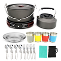 Outdoor Camping Kitchen Cook Set (19 Piece)
