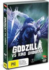 Godzilla Vs King Ghidorah on DVD