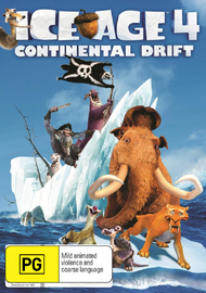 Ice Age 4: Continental Drift on DVD