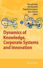 Dynamics of Knowledge, Corporate Systems and Innovation image