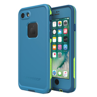 LifeProof Fre Case for iPhone 7/8 - Blue Lime