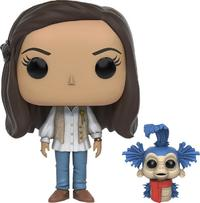 Labyrinth - Sara & Worm Pop! Vinyl Figure