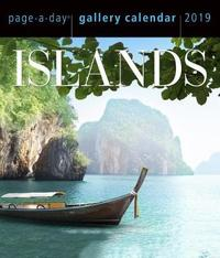 2019 Islands Gallery Page-A-Day Gallery Calendar by Workman Publishing