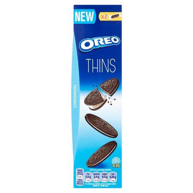 Cadbury Oreo Vanilla Thins 96g