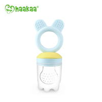 Haakaa: Fresh Food Teething Feeder - Blue image