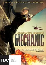 The Mechanic on DVD