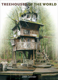 Treehouses of the World 2008 Wall Calendar: 2008 image