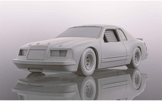 Scalextric: Ford Thunderbird - Slot Car