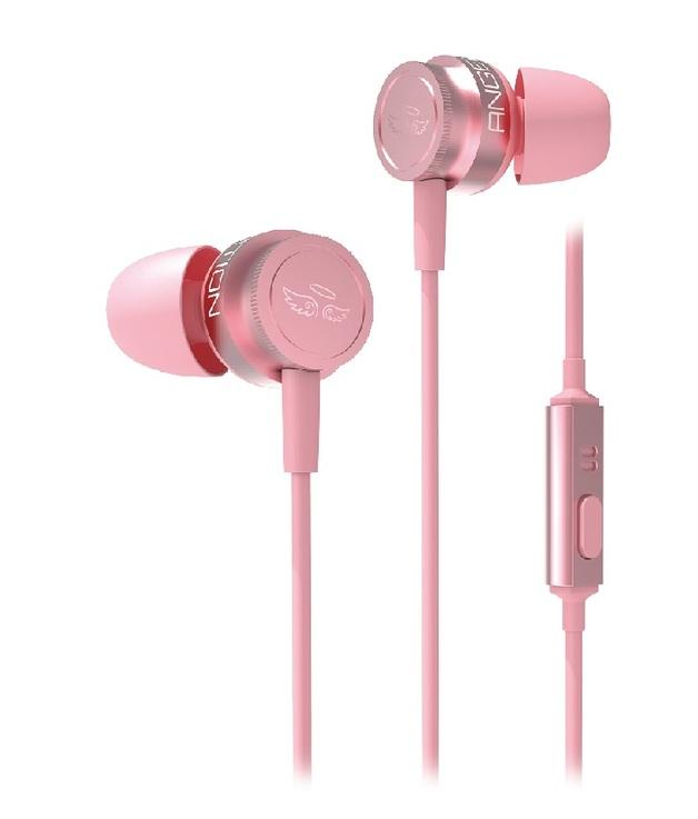SADES Wings-10 Gaming Earphones (Pink) for PC