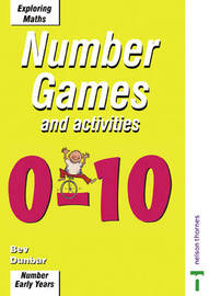 Games and Activities 0-10 by Bev Dunbar image
