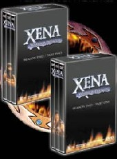 Xena - Warrior Princess: Season 2, Part 1 (3 Disc) on DVD