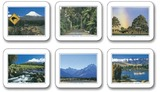 Simply New Zealand Coasters (Set 6)