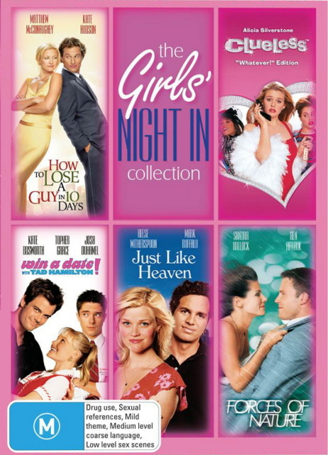 Girls Night In Collection (5 Disc Set) on DVD