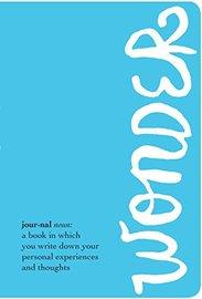 Wonder Journal by R J Palacio
