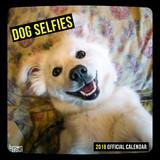 Dog Selfies 2018 Square Wall Calendar