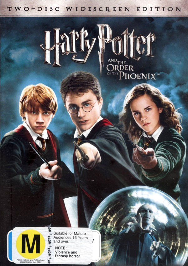 Harry Potter And The Order Of The Phoenix on DVD image