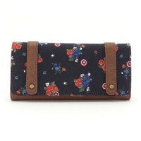Loungefly: Marvel Captain America - Floral Wallet