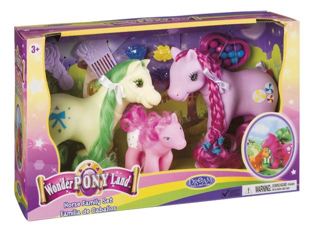 Toysmith - Wonder Pony Set (Assorted Designs)