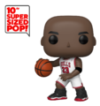 "NBA: Michael Jordan (White Jersey) - 10"" Super Sized Pop! Vinyl Figure"