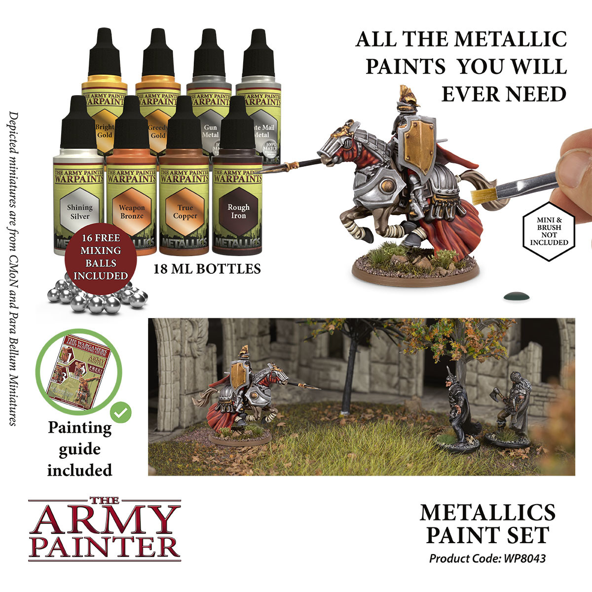 Army Painter: Warpaints - Metallics Paint Set image