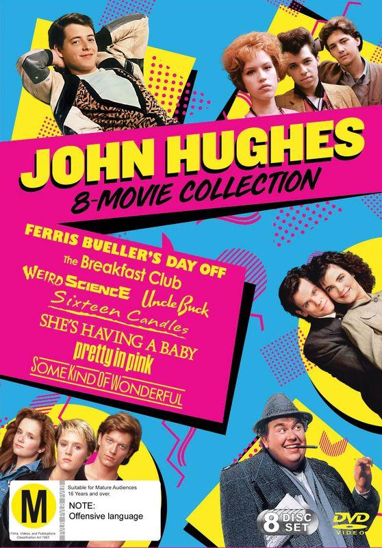 John Hughes Pack on DVD