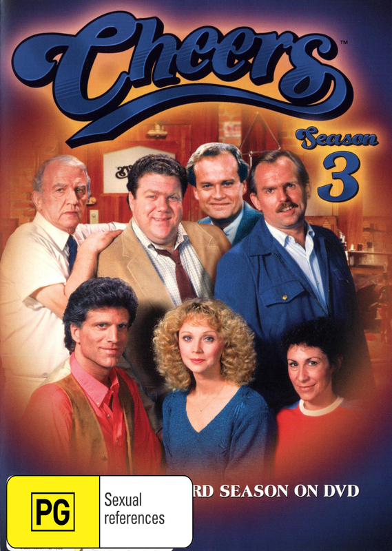 Cheers - Complete Season 3 on DVD