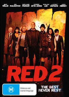Red 2 on DVD