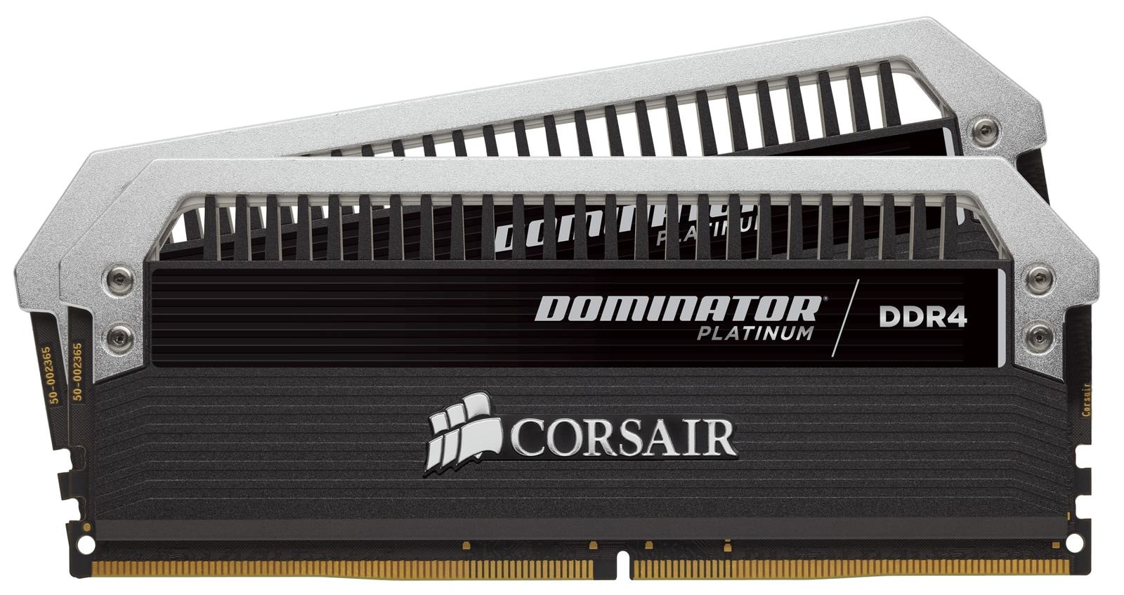 8GB Corsair Dominator Platinum Series (2 x 4GB) DDR4 DRAM 3200MHz C16  Memory Kit