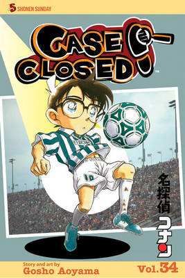Case Closed, Vol. 34 by Gosho Aoyama image
