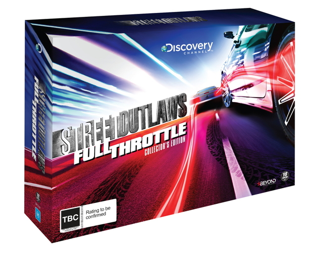 Street Outlaws: Full Throttle - Collector's Edition on DVD