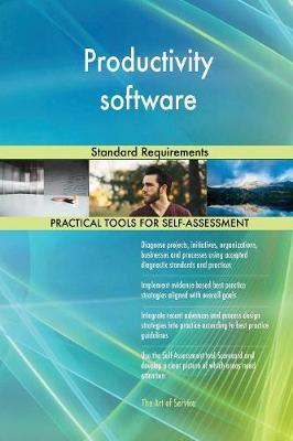 Productivity Software Standard Requirements by Gerardus Blokdyk image