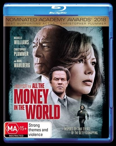 All The Money in The World on Blu-ray