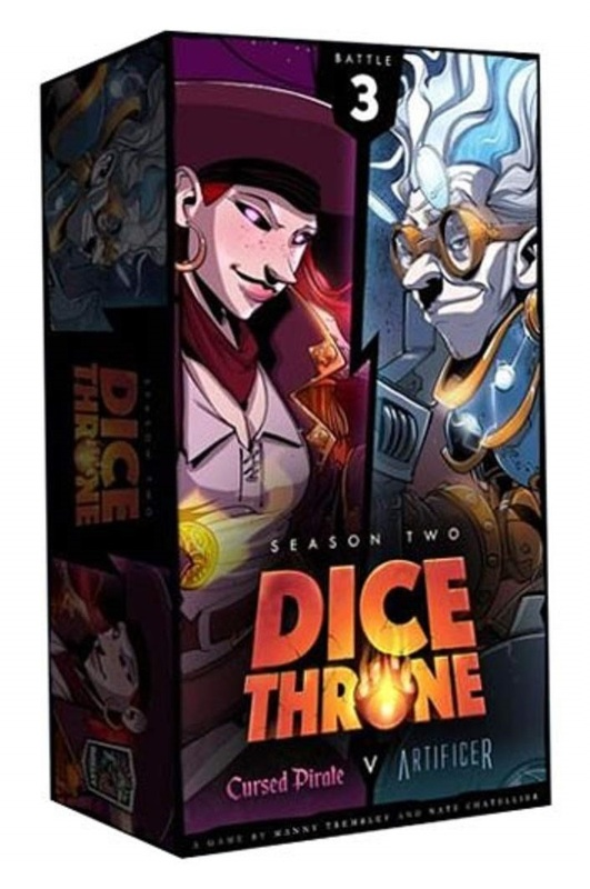 Dice Throne: Season Two - Pirate vs Artificer