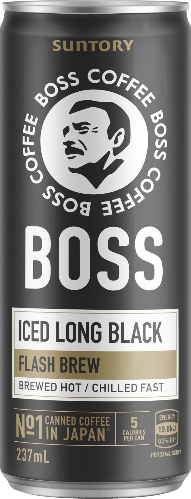 Suntory Boss Long Black Coffee (12 Pack) image