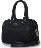 Loungefly Marvel Black Embossed Avengers Duffle