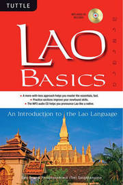 Lao Basics: An Introduction to the Lao Language by Phouphanomlack Tee Sangkhampone image