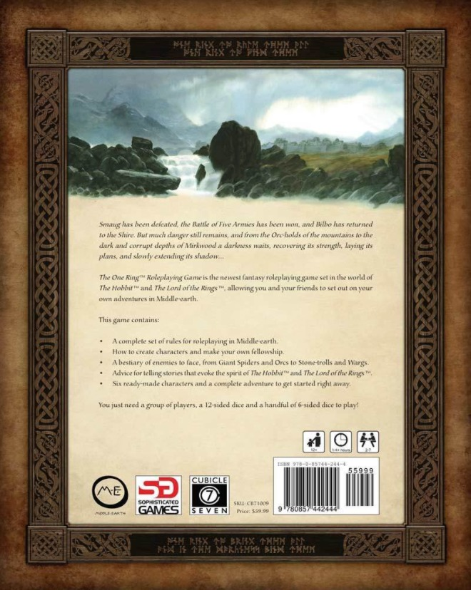 The One Ring RPG: Core Rule-book - Revised Edition image