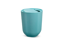 Umbra Step Can with Lid - Surf Blue