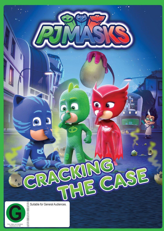 PJ Masks: Cracking The Case on DVD image