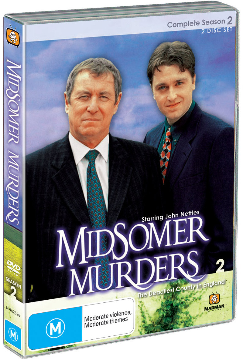 Midsomer Murders - Complete Season 2 (Single Case ) on DVD image