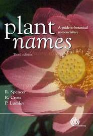 Plant Names image