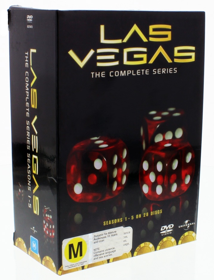 las vegas complete series box set dvd buy now at. Black Bedroom Furniture Sets. Home Design Ideas
