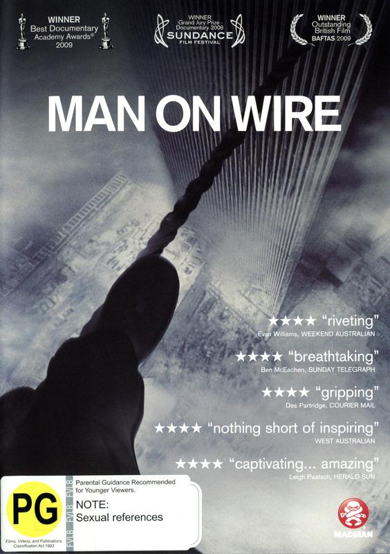 Man on Wire on DVD