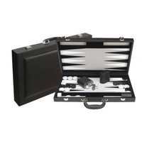 "Dal Rossi Backgammon 18"" PU Leather - Black"